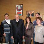 4 Российская делегация на приеме у В.А. Самуся директора РУП Институт садоводства Беларуси
