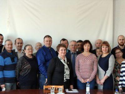 Рабочая встреча директора Центра с коллективом филиала