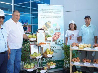 Достижения фермеров представили на сельскохозяйственной выставке «Агро–2021»